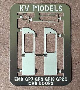 Image is loading ETCHED-EMD-ROUND-ROOF-CAB-DOORS-GP-7- & ETCHED EMD ROUND ROOF CAB DOORS GP-7 GP-9 GP-18 GP-20HO SCALE KV ... Pezcame.Com