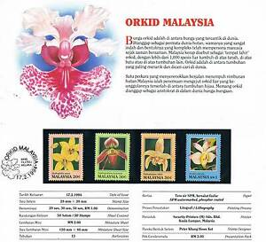 1994-MINT-MPP-179-ORCHIDS-OF-MALAYSIA-PRESENTATION-PACK