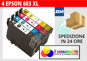 KIT-4-INKJET-T603XL-COMP-EPSON-Epson-WorkForce-WF-2810-2815-2830-2850