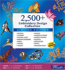 Embroidery Design Software Collection Brother SAEMB2500 SAEMB 2500