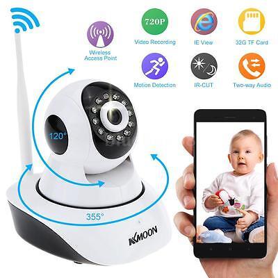 720P IP Cámara HD Vision Nocturna Wlan WIFI Vigilancia Wireless Motorizada 31GN