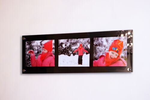 """Multi picture photo frame  10 x 7//10 x 8 /""""//8 x 10  all color Cheshire Acrylic"""
