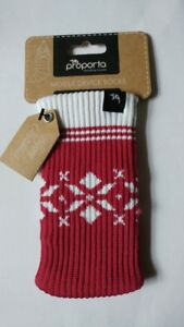Proporta-mobile-phone-mp3-sock-Pink-Snowflakes