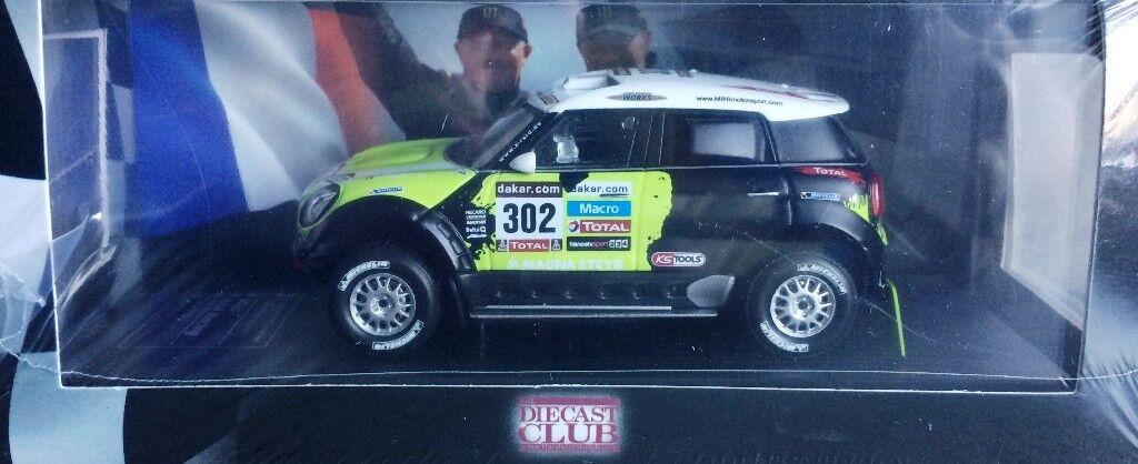 Rally Podium Set Mini All4 Racing WRC Diecast Model (2013) - DIECAST CLUB