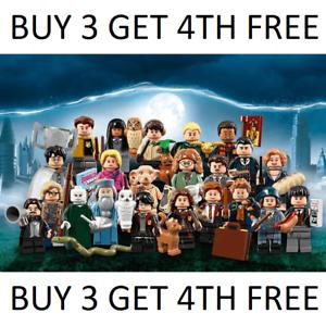Genuine-LEGO-HARRY-POTTER-fantastico-BESTIE-MINIFIGURES-71022-seleziona-Scegli-la-figura