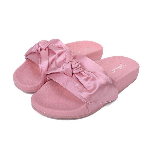 Sandalias elegantes bajo rosadodos zapatillas cómodo como como como piel elegantes 1143  el mas reciente