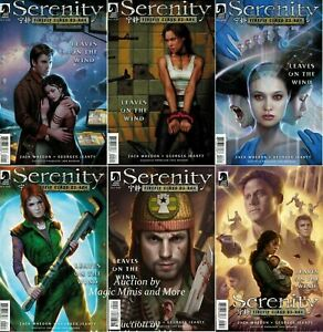 Serenity Leaves on the Wind Set Joss Whedon Jeanty Firefly Dos Santos Variant NM