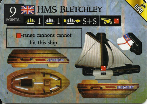 055 HMS BLETCHLEY PIRATES OF MYSTERIOUS ISLANDS