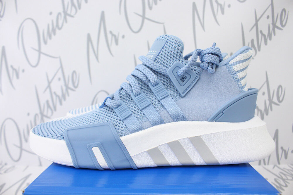 NŐK ADIDAS ORIGINALS EQT BASKETBALL ADV SZ 8 ASH BLUE CLOUD FEHÉR AC7353