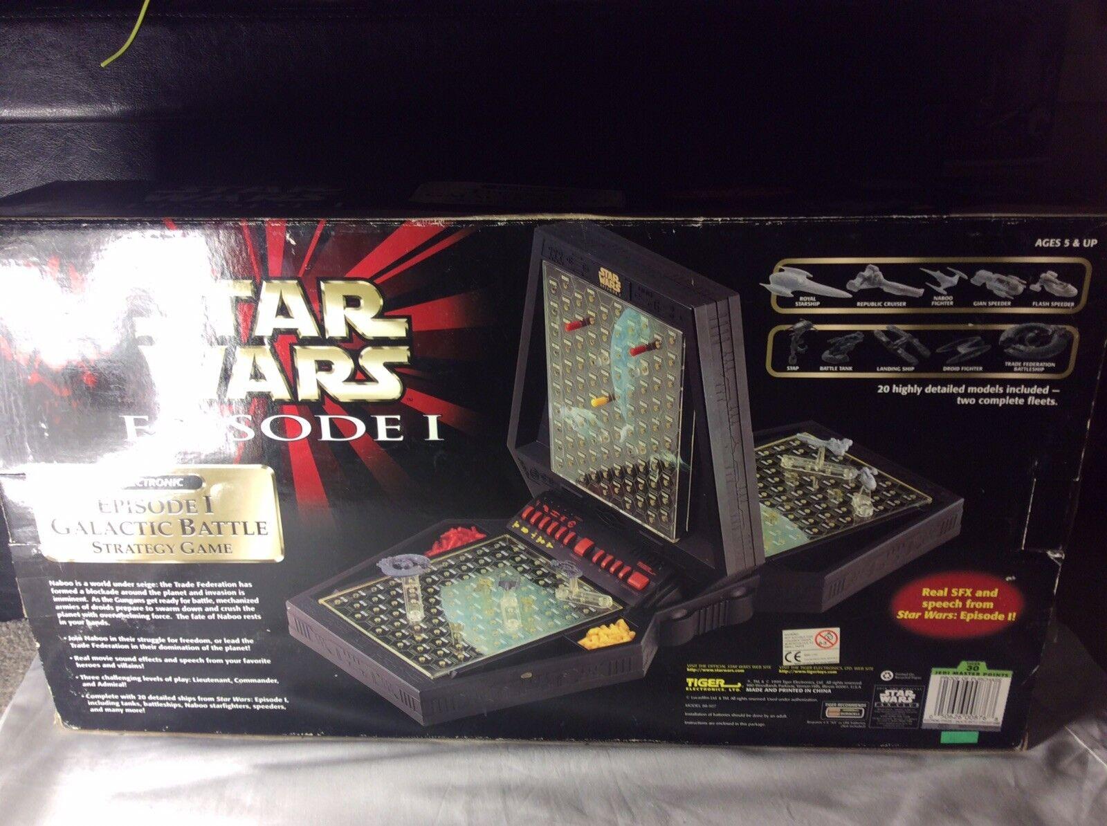 Star Wars Electronic Episode 1 Galactic Battle Battle Battle Strategy Game 1999 New Sealed 62e11d