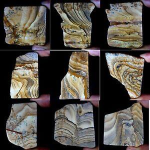 PICTURE-JASPER-Slab-Natural-Wonderful-Designer-Polished-Minerals-Cabbing-PS39