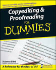 Copyediting and Proofreading For Dummies by Suzanne Gilad (Paperback, 2007)