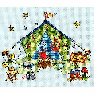"Bothy Threads Cross Stitch Kit-Corte a través de /""casa embrujada"