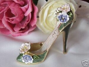 MINIATURE-SHOE-COLLECTABLE-ORNAMENT-JEWELLED-J680006
