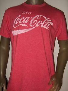 Coca Cola Shirt Men XL Red NEW