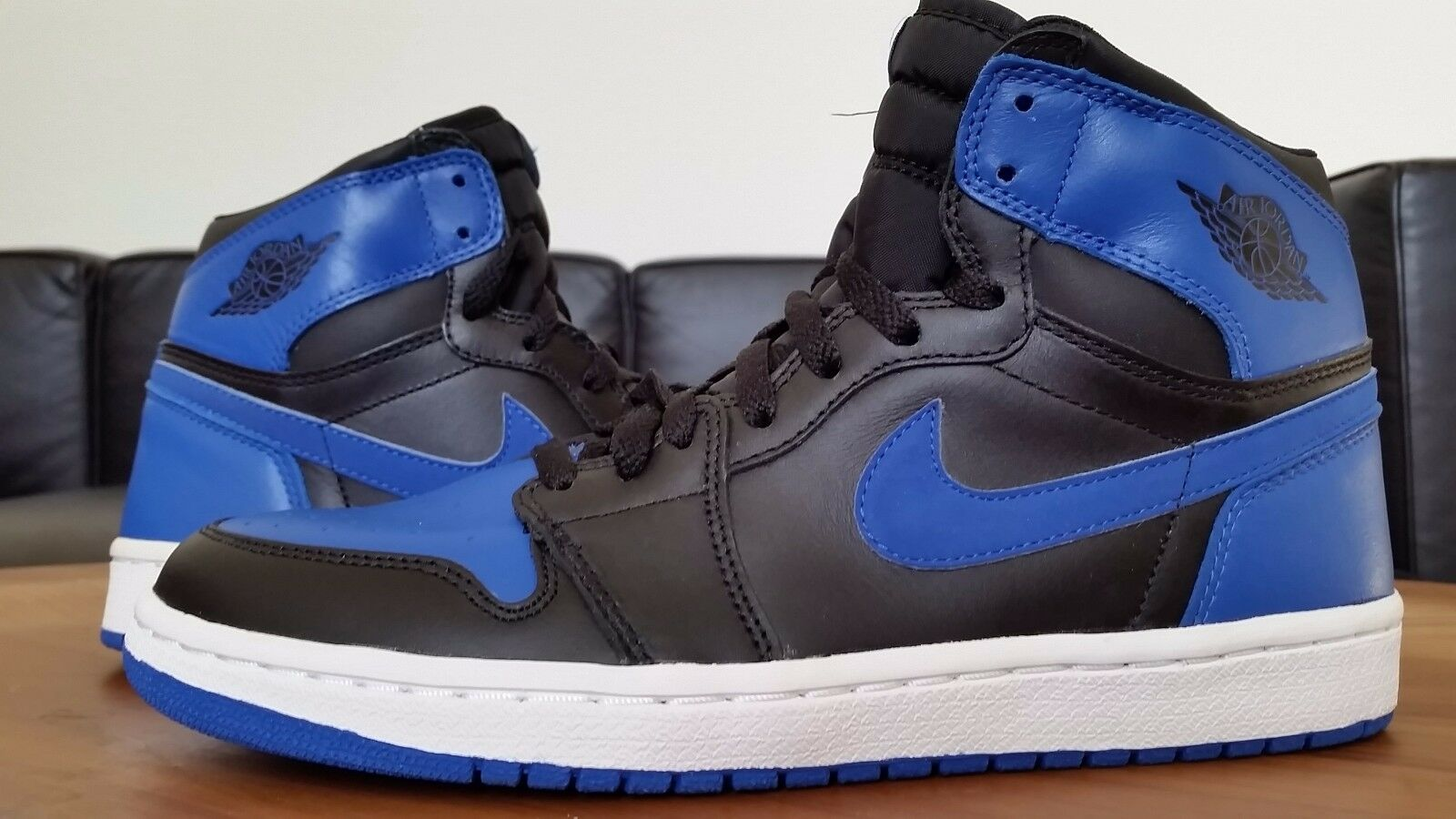 2001 136066-041 Nike Air Jordan Black/Royal 1 9