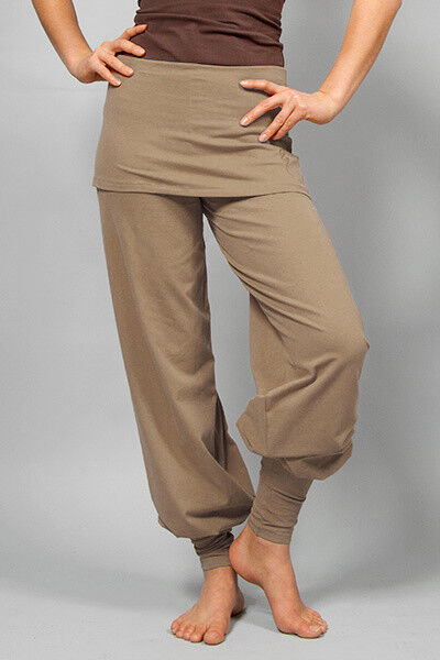 Yogahose  sohang  - Taupe Beige von Breath Of Fire  | Fuxin