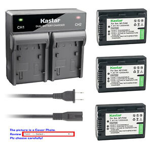 Kastar-Battery-Rapid-Charger-for-Sony-NP-FH50-NPFH50-FH50-amp-Sony-SLT-A35-HXR-MC1