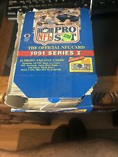 1991 NFL Pro Set Series 1 Unopened Blue Football Cards 36pcs
