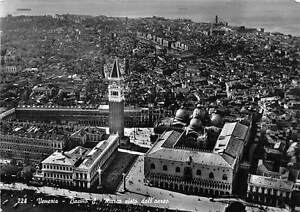 Italy-Venezia-Bacino-S-Marco-aereo-St-Mark-Dock-from-the-aeroplane-1957