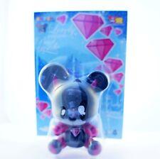 "Toy2r 3"" Key Chain Qee Series Yatoy Joet Nasty Baby Bear Devil Kidrobot"