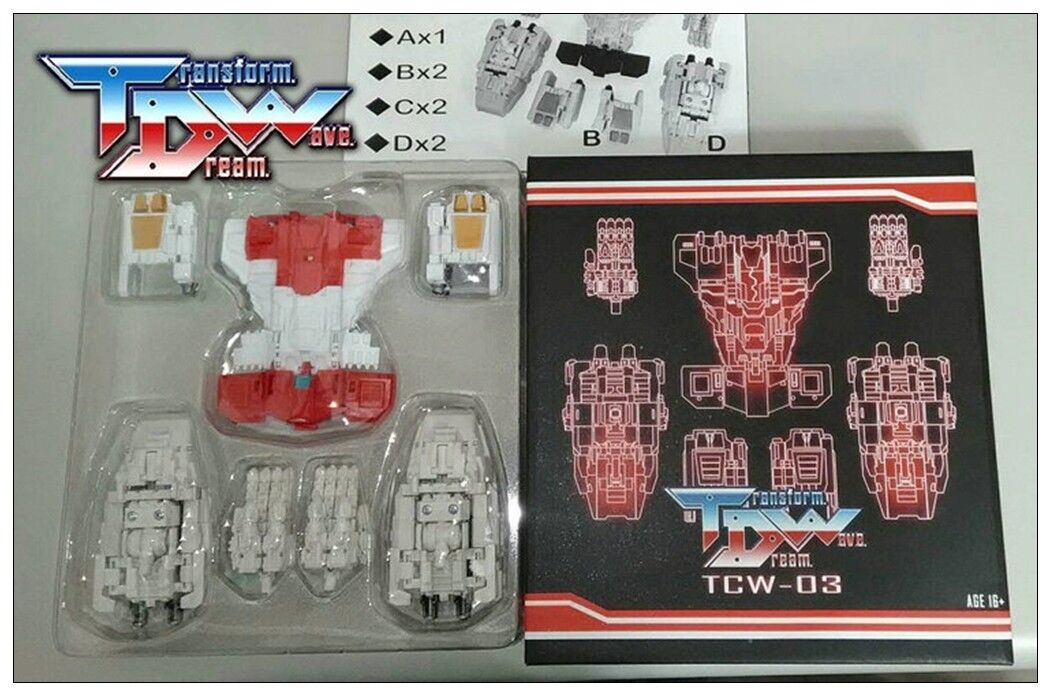 Pre-order Transformers toy TDW TCW03 Superion IDW Version Accessories Kit