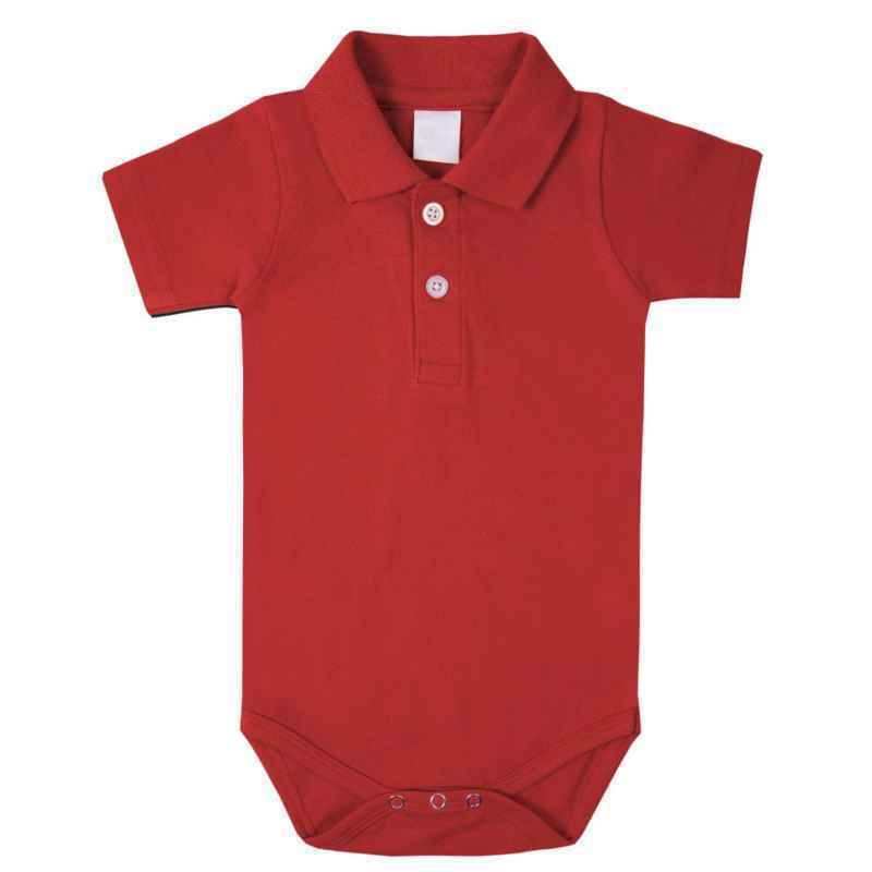db50b0045e9e BABY BOYS GIRLS SHORT SLEEVE POLO SHIRT COLLARED BODYSUIT ROMPER ...