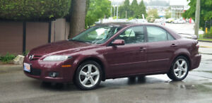 2006 Mazda 6 - Low KMS - 5spd manual