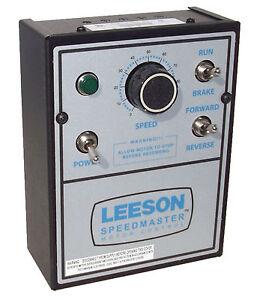 Leeson dc motor control nema 1 90 180 vdc 1 for 2 hp dc electric motor