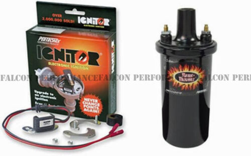PerTronix Ignitor Module+Coil Ford V8+Motorcraft Dual Point Distributor 68-71