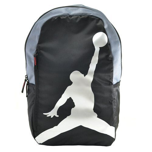 d70a60e85aaa Buy Nike Jordan ISO Crossover Backpack Jumpman Black Grey Silver School  Bookbag 24l online