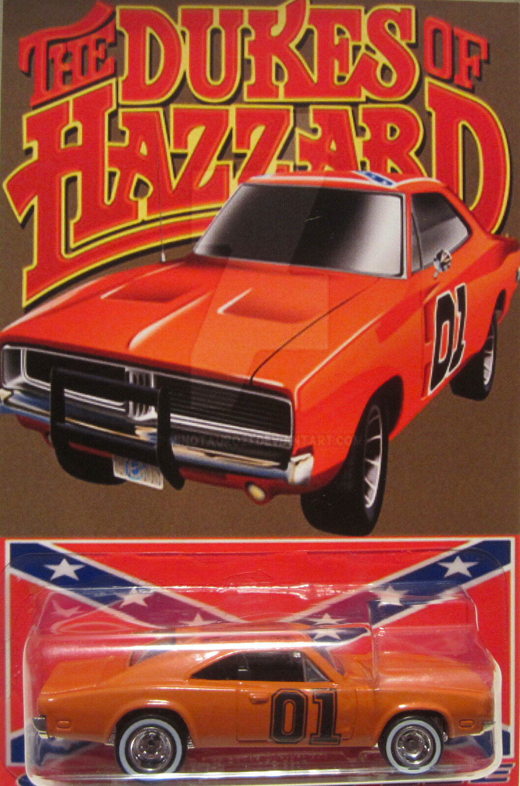 Hot Wheels su Misura '69 Dodge Charger Generale Lee Hazzard Real Rider