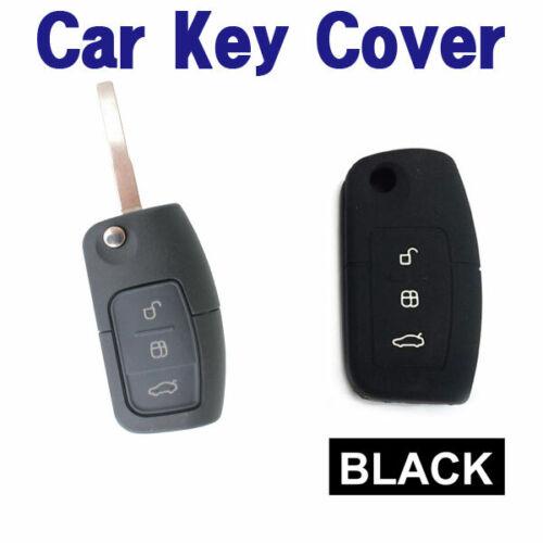 CAR KEY COVER CASE Fits Ford Falcon Mondeo Focus Territory FG XR6T XR5 FPV-BLACK