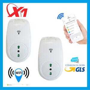 N1 Presa Wifi Controllo Remoto Da Cellulare Luci Elettrodomestici