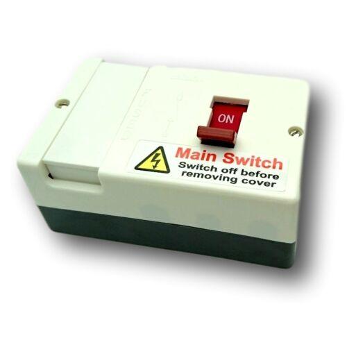 Castlec AD100FMS Fused Switch 100 Amp c//w 80 Amp /& 100 Amp Fuses