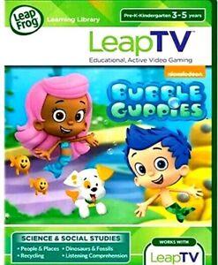 LeapFrog LeapTV Nickelodeon Bubble Guppies Educational ...