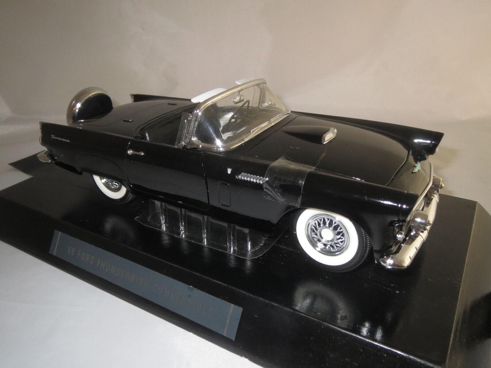 Revell 8818  56 Ford thunderbird Convertible Noir (7) 1 18 OVP