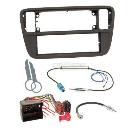 Skoda Citigo ab 11 1-DIN Autoradio Einbauset Canbus Adapter Radioblende