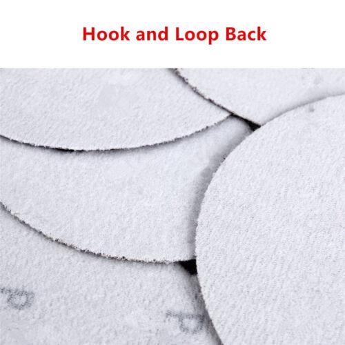 7inch 400-Grits Dustless Hook and Loop Sanding Discs 50-Pack Orbit Sander 18cm