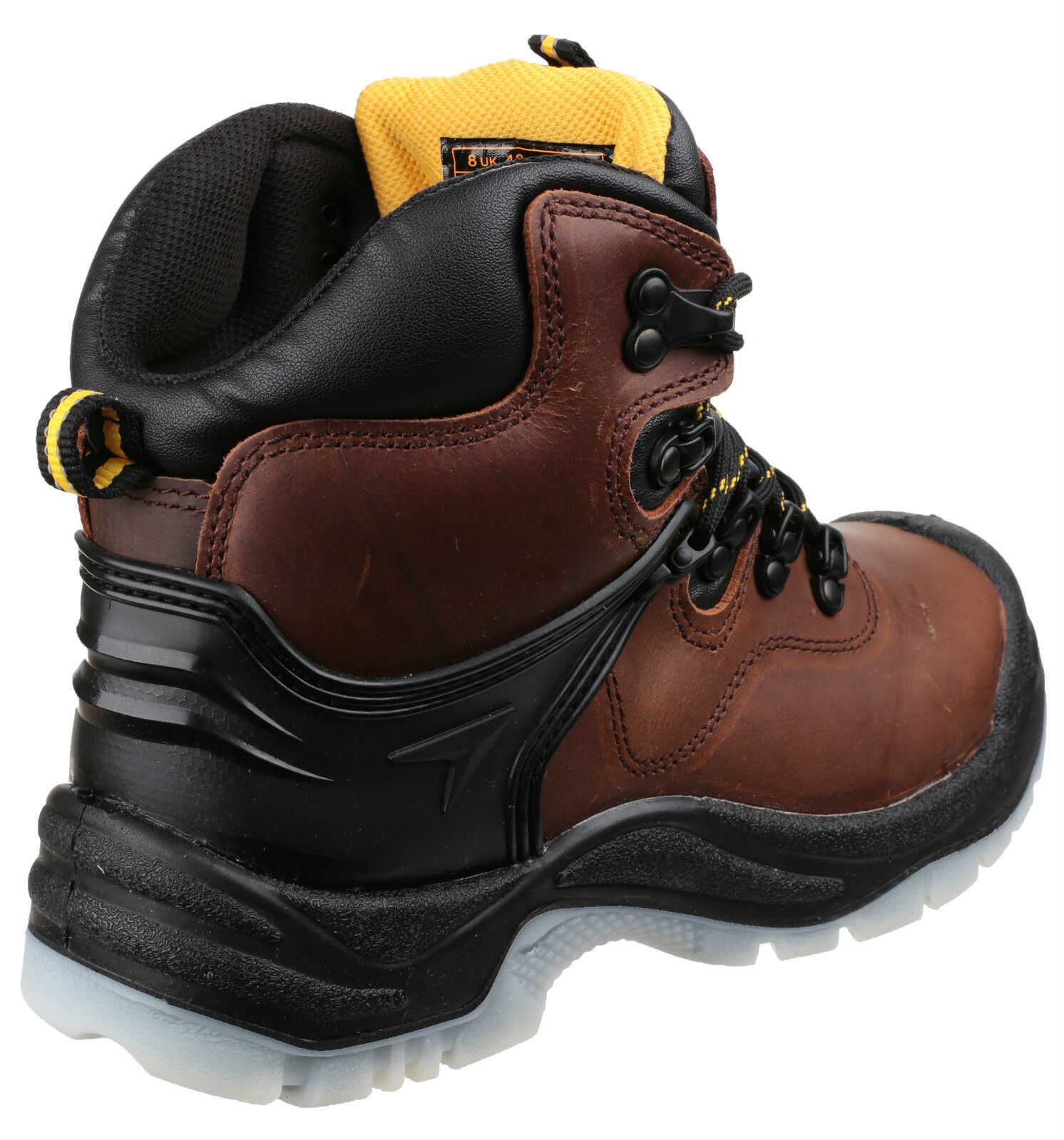 Amblers FS197 Waterproof Safety Boots Mens Brown Steel Toe Cap Shoes UK4-14