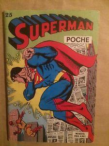 SUPERMAN-POCHE-Sagedition-T25-septembre-1979