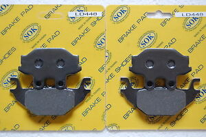 Rear Brake Pads Arctic Cat 250 Utility 2x4 2006 2007 2008 2009