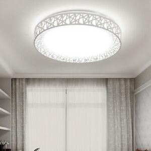Details zu 24W LED Deckenleuchte Vogelnest Runde Lampe Leuchten Für  Wohnzimmer Schlafzimmer