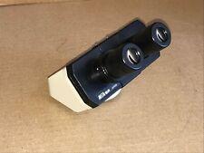 Nikon Microscope Binocular Head With Cfwe 10xa 18 Eyepieces Alphaphot Labophot