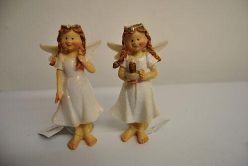 Engel mit Herz schöne Engel Weihnachten Deko Figur Polyresin Pajoma Neu Figuren2