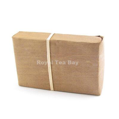 Shu Puer Tea Pu er Pu-erh 2007 Yiwumahei Bamboo Skin Pu'er Tea Brick 250g
