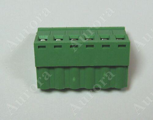 B/&K,+ Set of 6 // 6 pin 5mm // Terminal Block Connector -Crestron Speakercraft