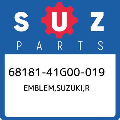 New Genuine OEM Part 68191-41G00-019 Suzuki Emblem,suzuki,l 6819141G00019