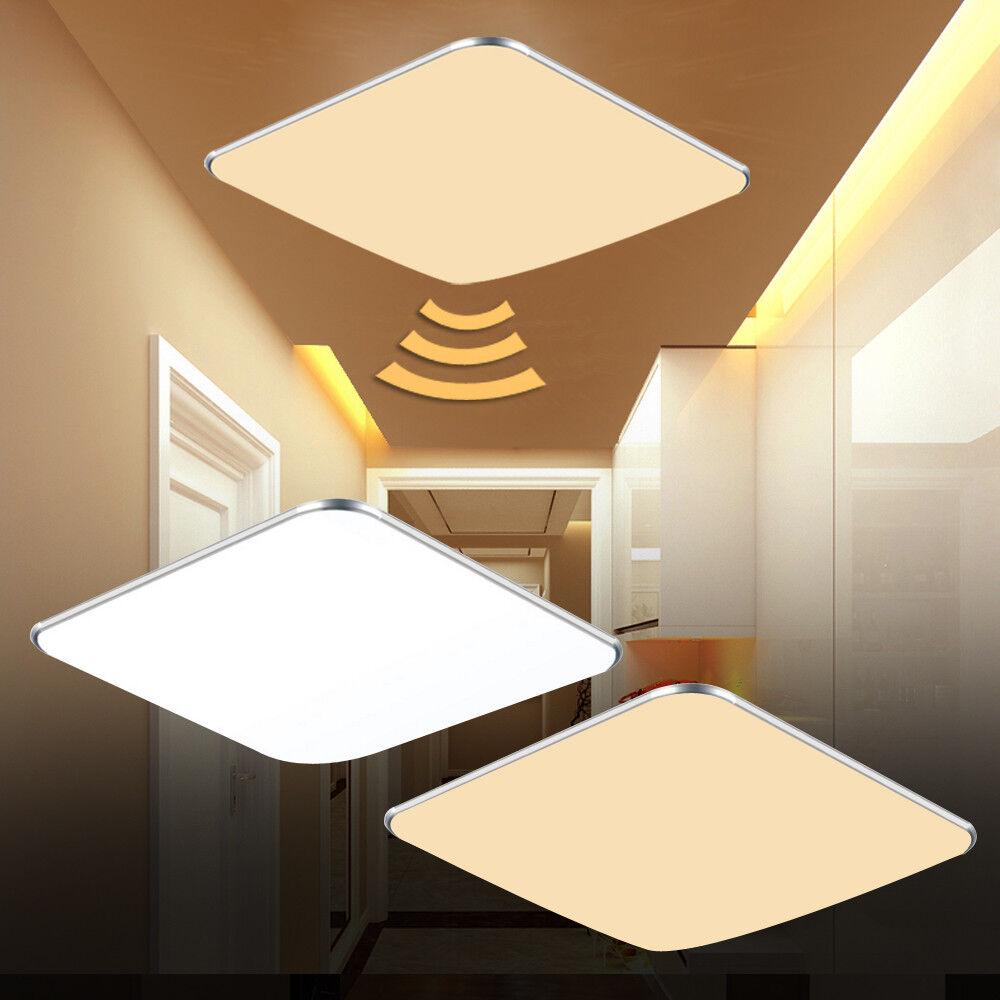 LED Deckenlampe 24W Warmweiß  Deckenleuchte Wohnzimmer Flurlampe Beleuchtung A++