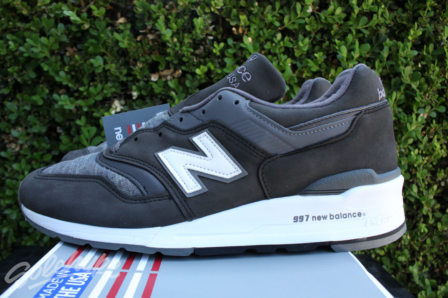 NEW BALANCE 997 PREMIUM SZ 7.5 PIGSKIN MADE IN USA GRAY MAGNET GREY M997DPA
